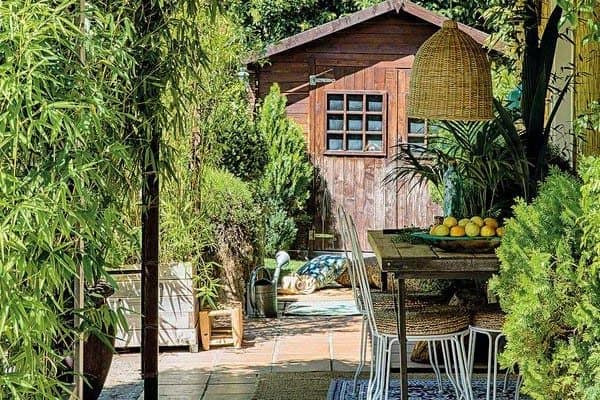 featured posts image for Boho chic style radiates in this lovely Spanish country home