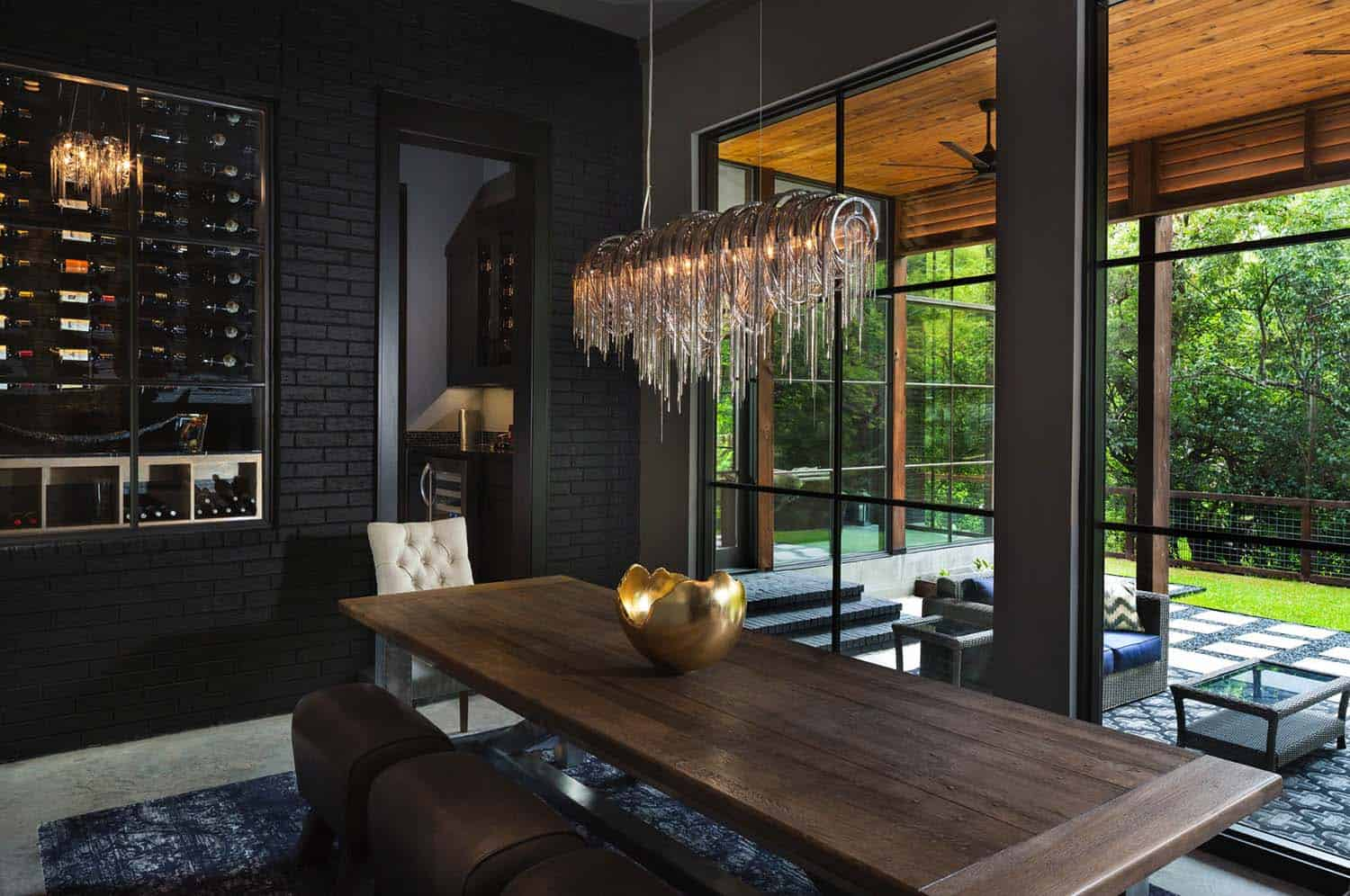 Urban Modern Interior Design: Urban Contemporary Home With An Industrial Twist In Dallas