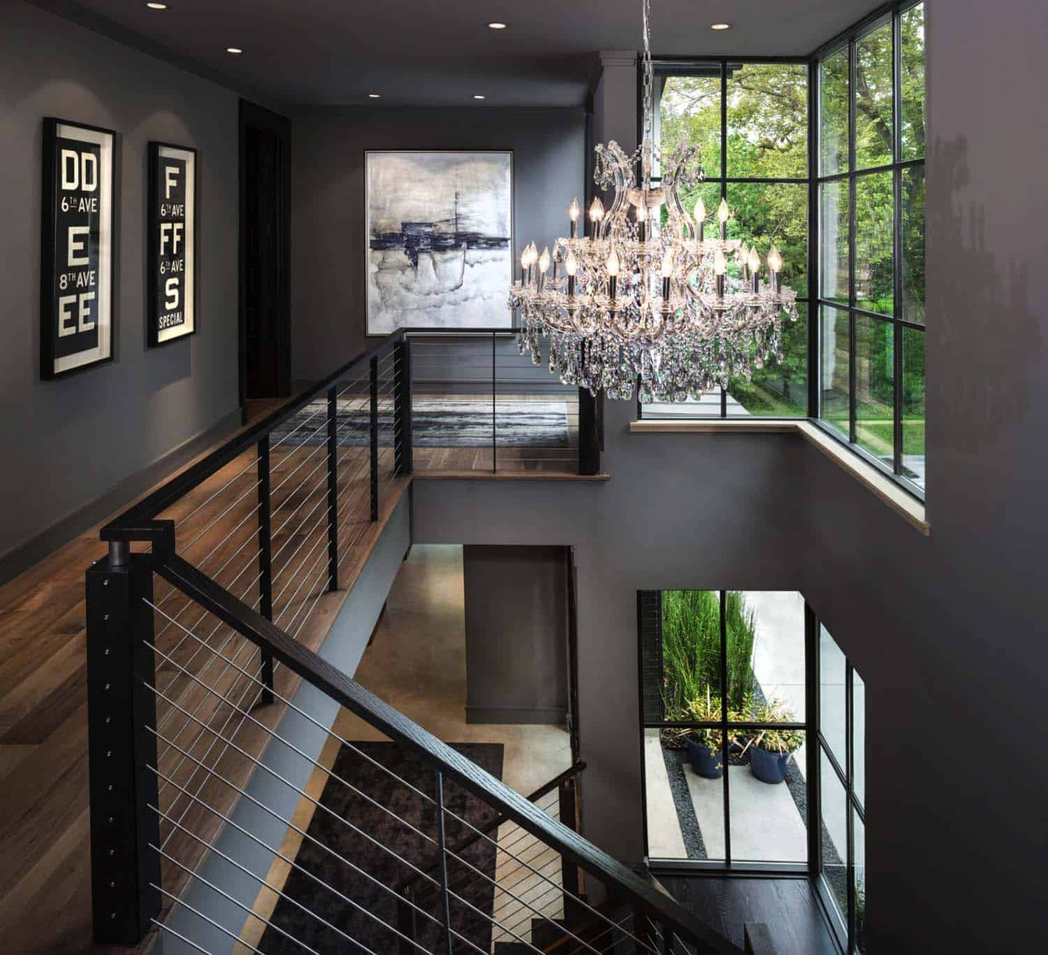 Urban contemporary home with an industrial twist in dallas - What is a contemporary home ...