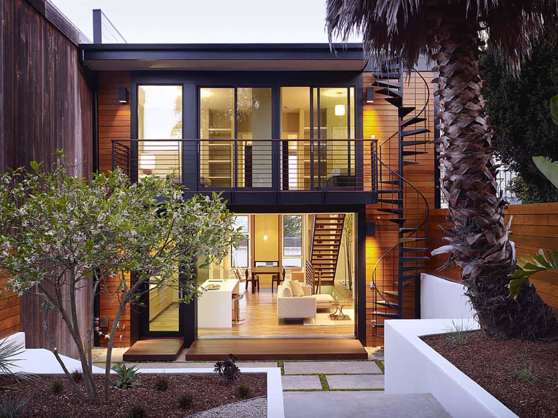 Architecture Modern Hillside Home-01-1 Kindesign
