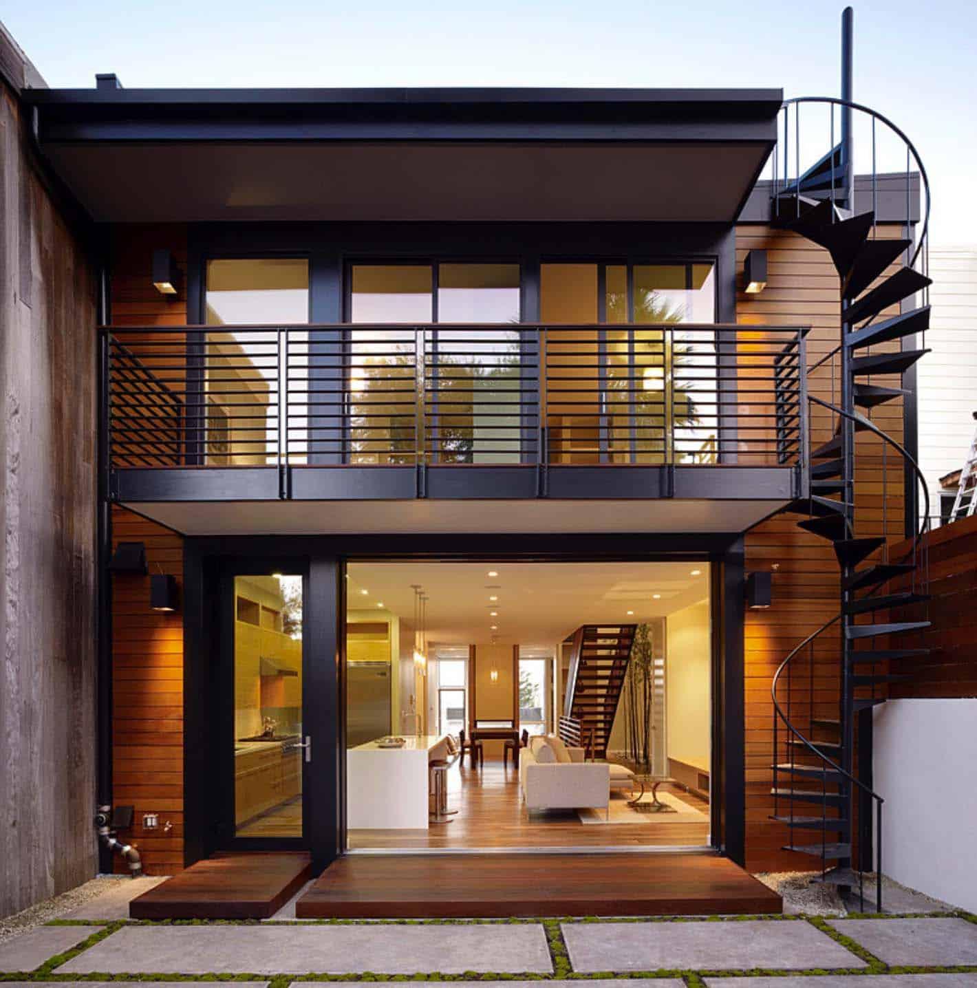 Architecture Modern Hillside Home-02-1 Kindesign