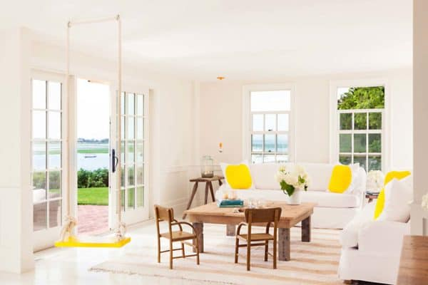 featured posts image for Cape Cod-style cottage radiates with pops of sunshine yellow