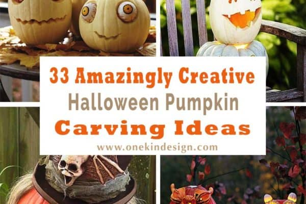 featured posts image for 33 Amazingly creative Halloween pumpkin carving ideas