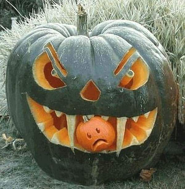 Creative Halloween Pumpkin Carving Ideas-17-1 Kindesign