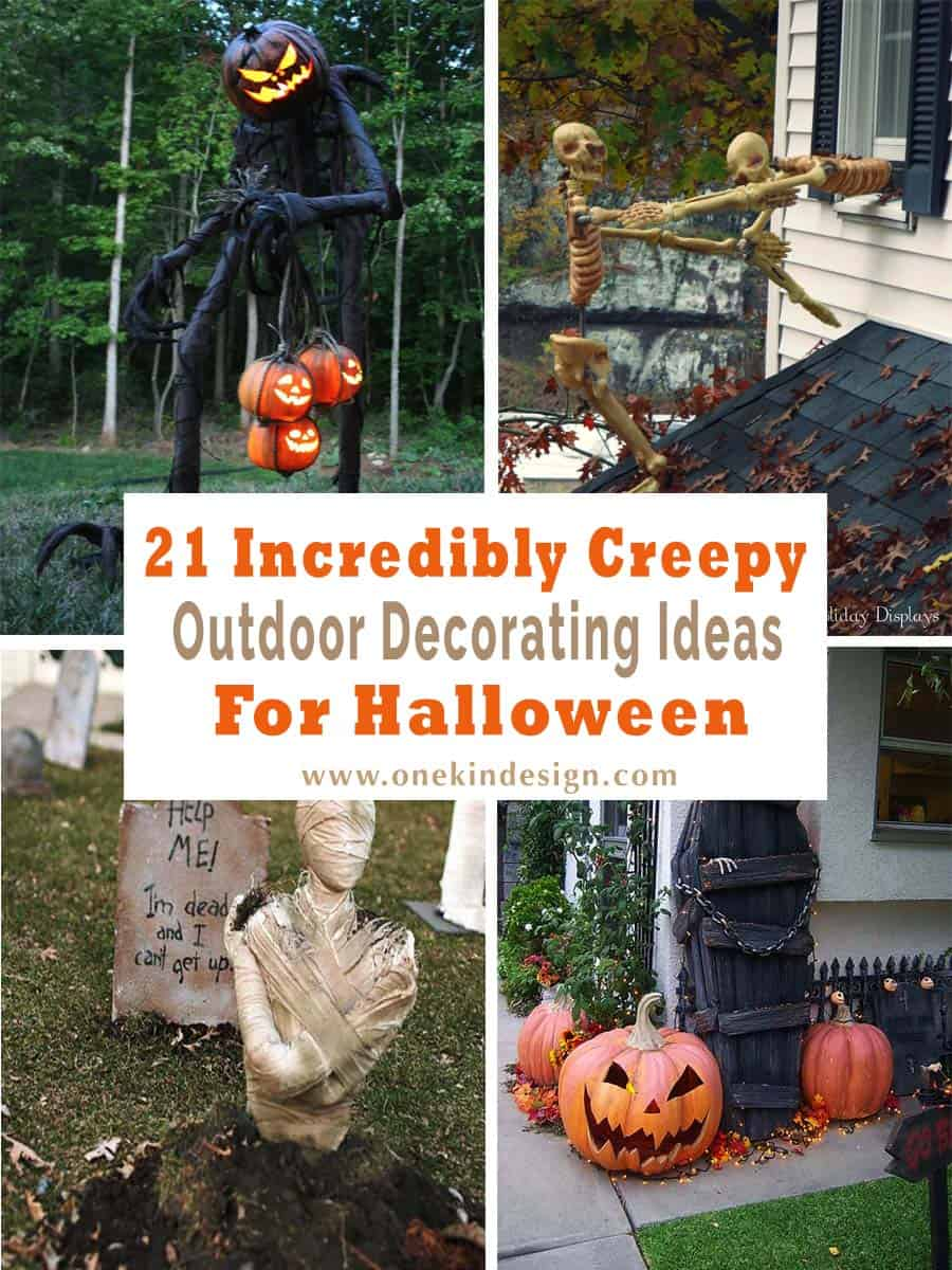Halloween Yard Decorating Ideas 21 incredibly creepy outdoor decorating ideas for halloween creepy outdoor halloween decorating ideas 00 1 kindesign workwithnaturefo