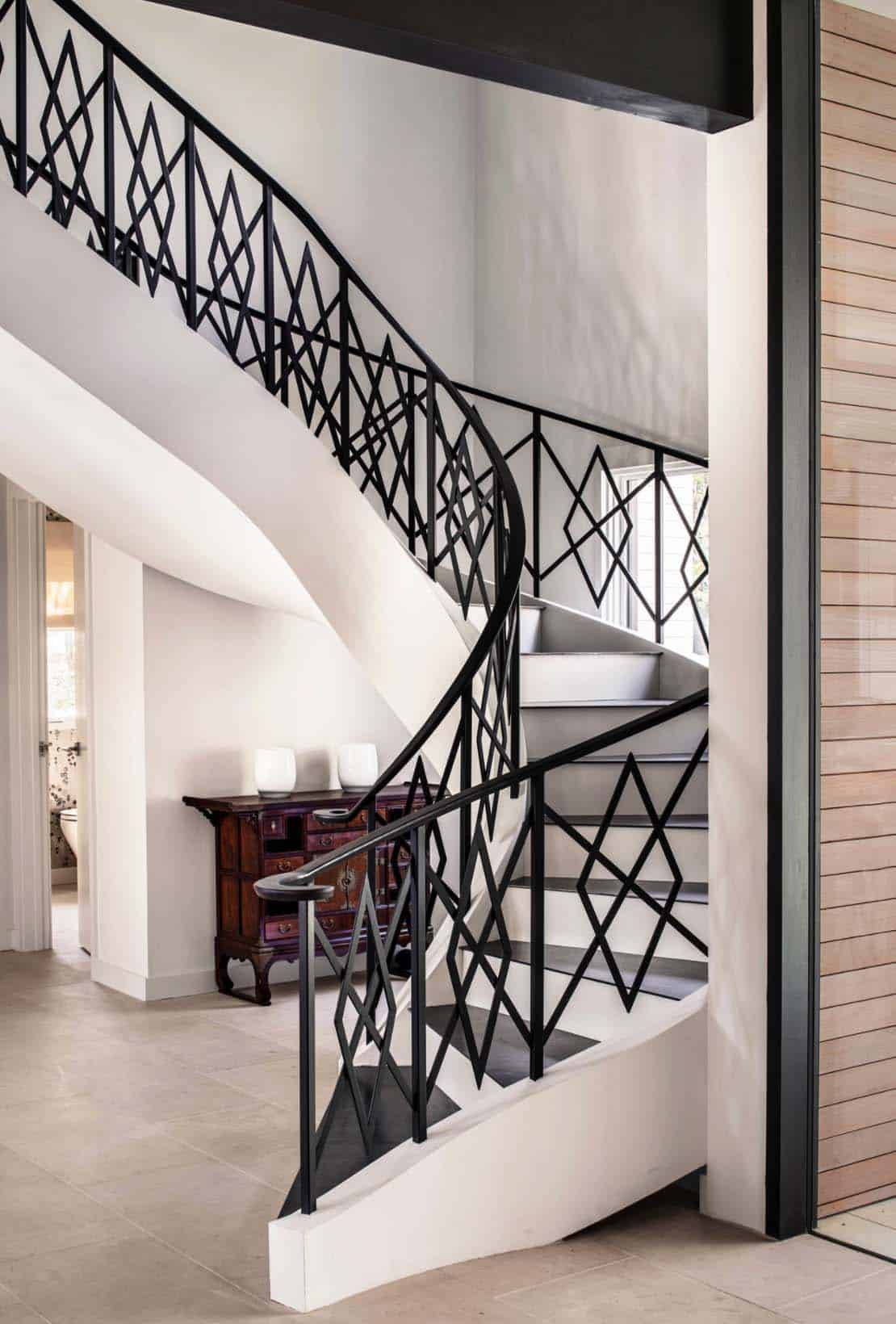 Midcentury Modern Renovation Creates Inspired Living In Austin - Beautiful interiors with asian influences tarrytown residence by webber studio architects