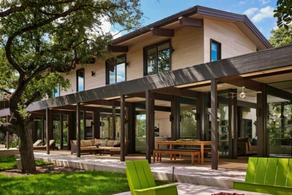 featured posts image for Mid-century modern renovation creates inspired living in Austin