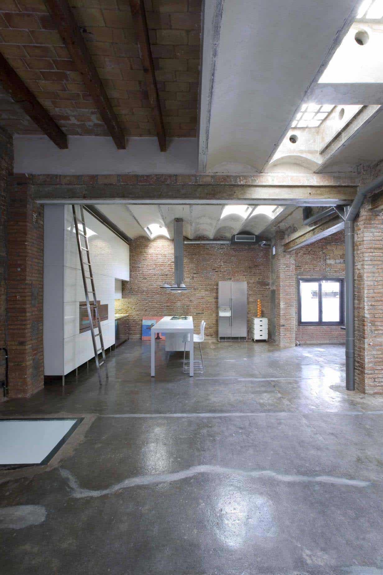 Modern Loft Apartment-Studio Minim-19-1 Kindesign