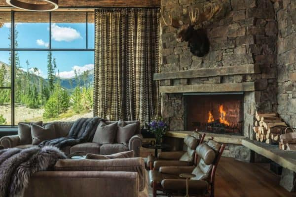 featured posts image for Rustic chic mountain home in the Rocky Mountain foothills