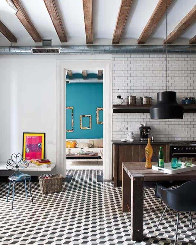 Retro-Modern Apartment-Egue y Seta-05-1 Kindesign