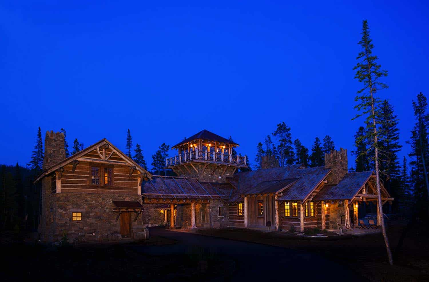 Rustic Log Home Design-Faure Halvorsen Architects-17-1 Kindesign