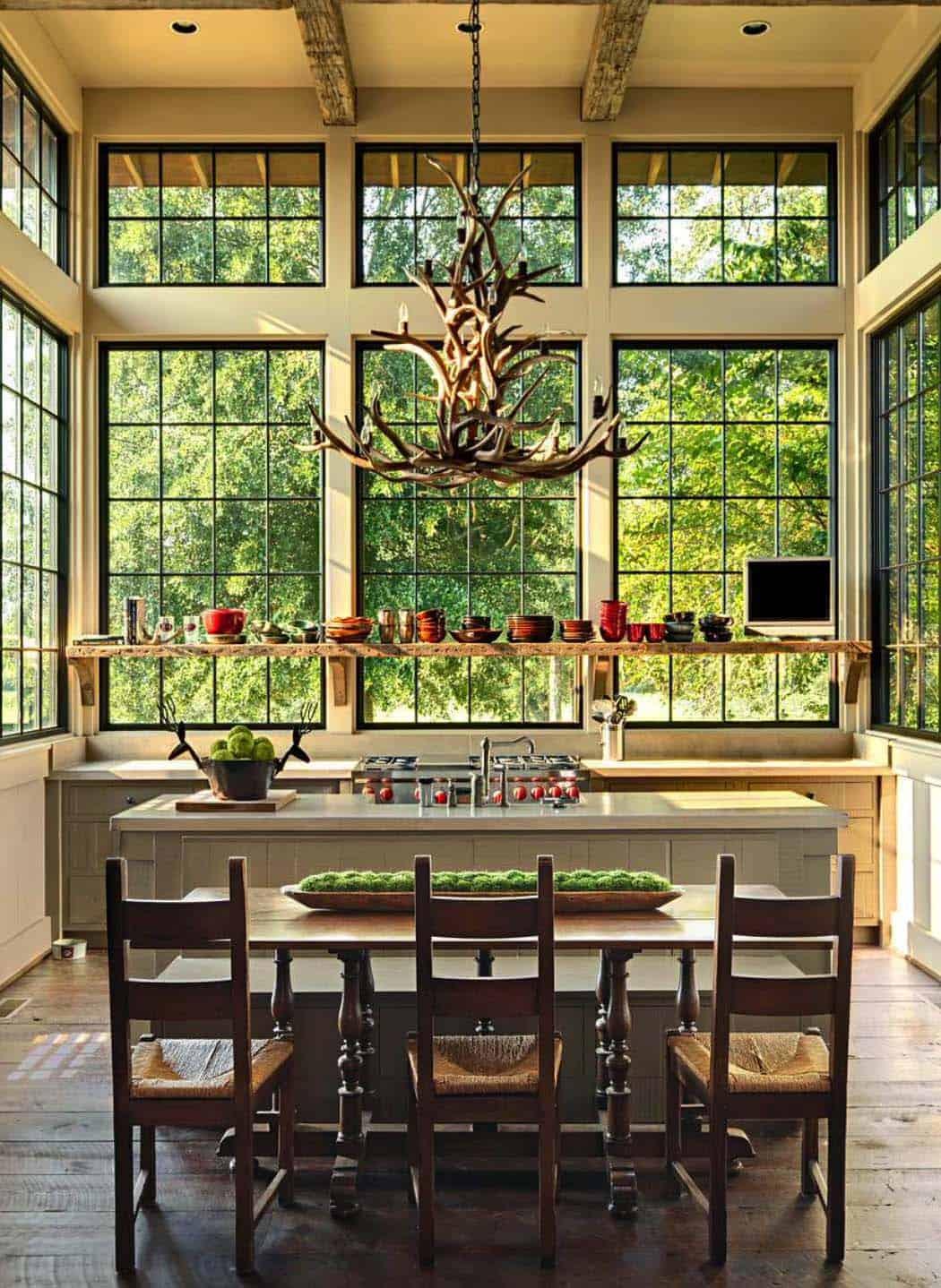 Rustic-Modern Farmhouse-Jeffrey Dungan Architects-01-1 Kindesign