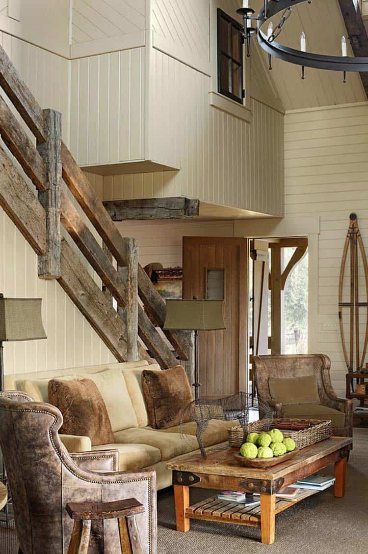 Rustic meets modern a farmhouse in rural alabama for Modern rustic farmhouse plans