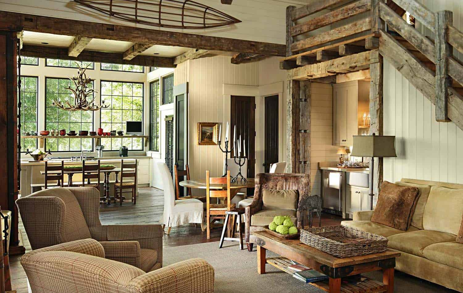 Rustic-Modern Farmhouse-Jeffrey Dungan Architects-04-1 Kindesign