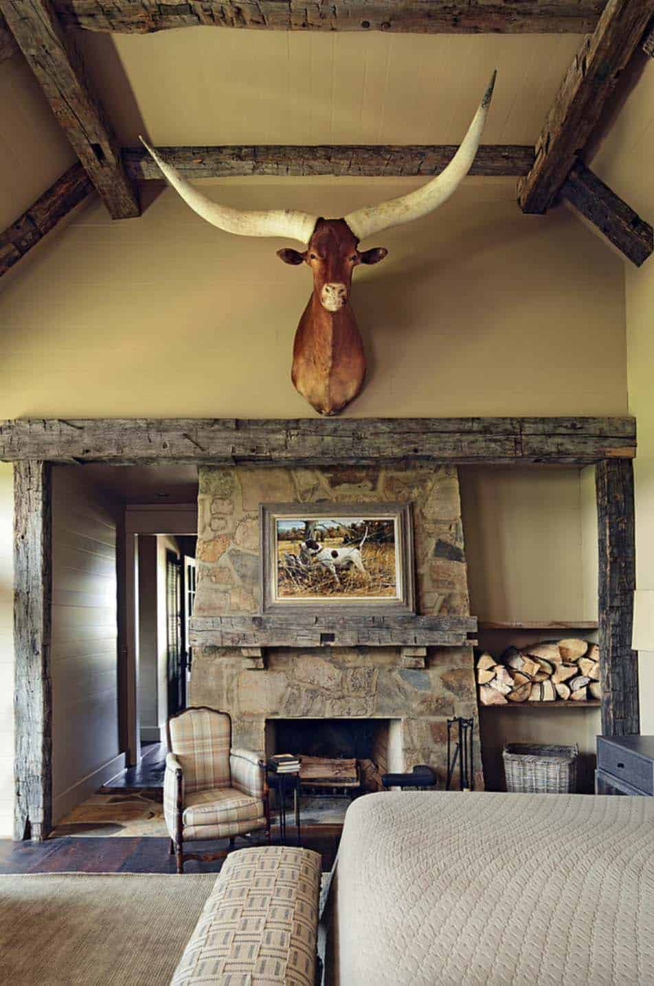 Rustic-Modern Farmhouse-Jeffrey Dungan Architects-07-1 Kindesign