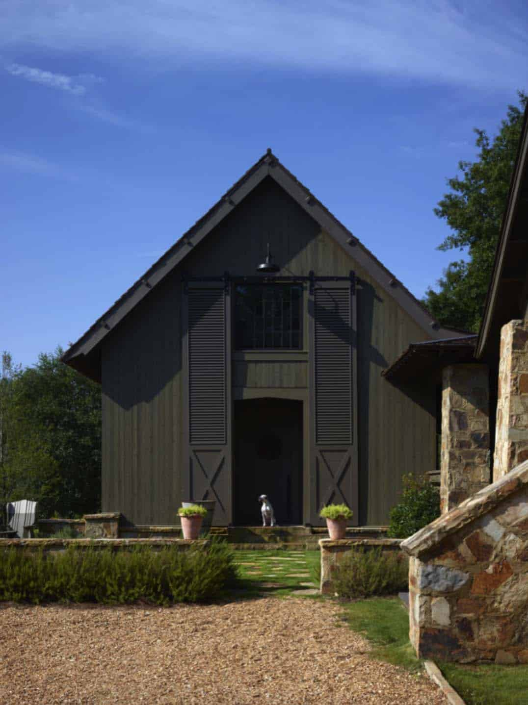 Rustic-Modern Farmhouse-Jeffrey Dungan Architects-13-1 Kindesign