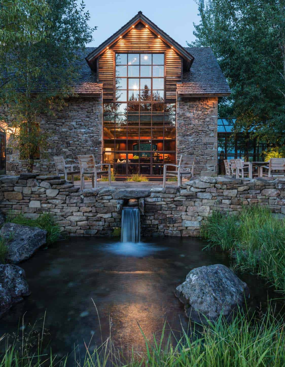 Rustic Stone Timber House-JLF Architects-01-1 Kindesign