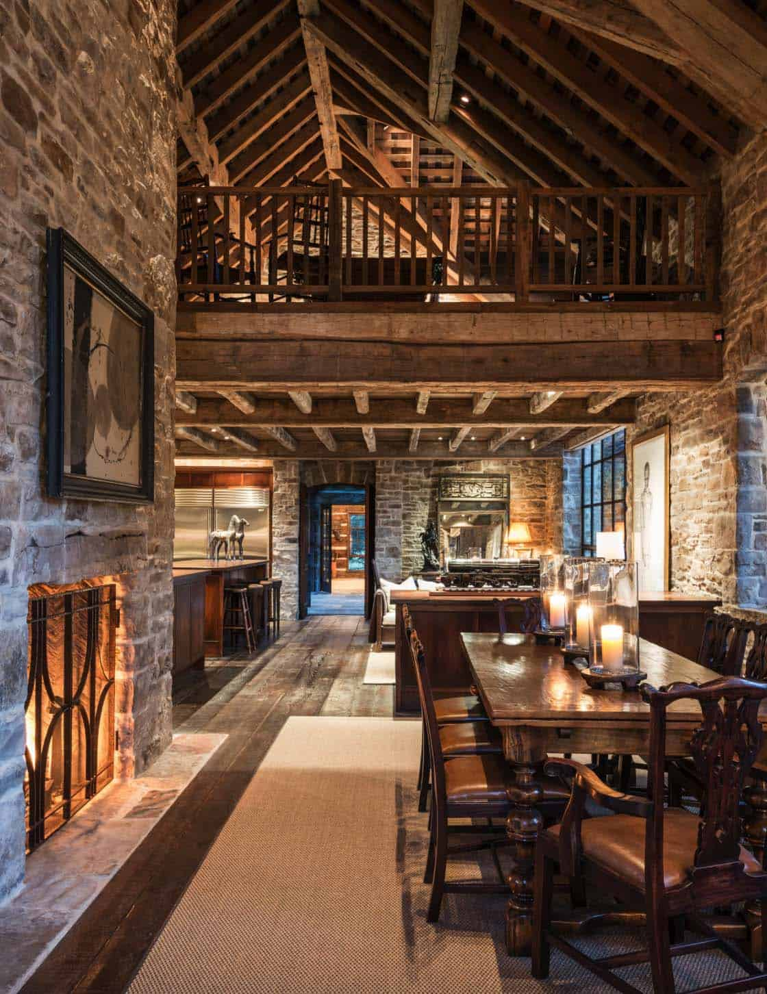Rustic Stone Timber House-JLF Architects-03-1 Kindesign