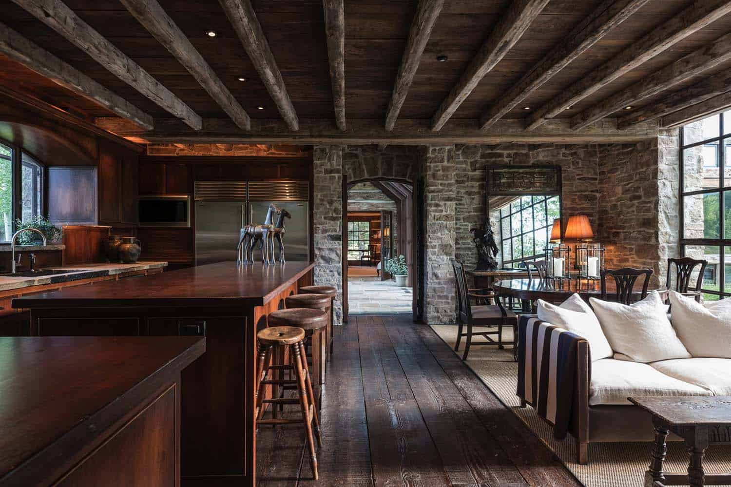 Rustic Stone Timber House-JLF Architects-04-1 Kindesign