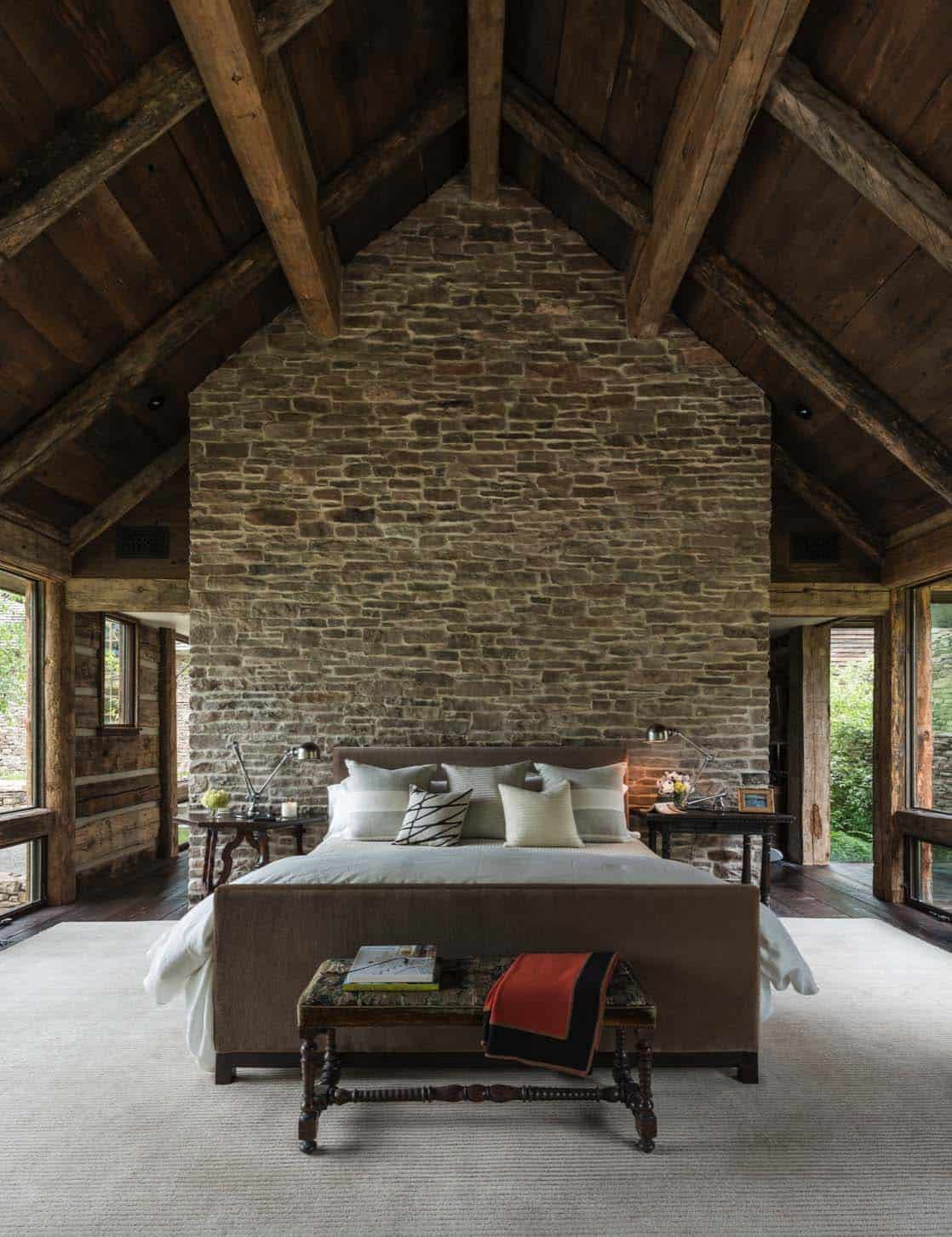 Rustic Stone Timber House-JLF Architects-06-1 Kindesign