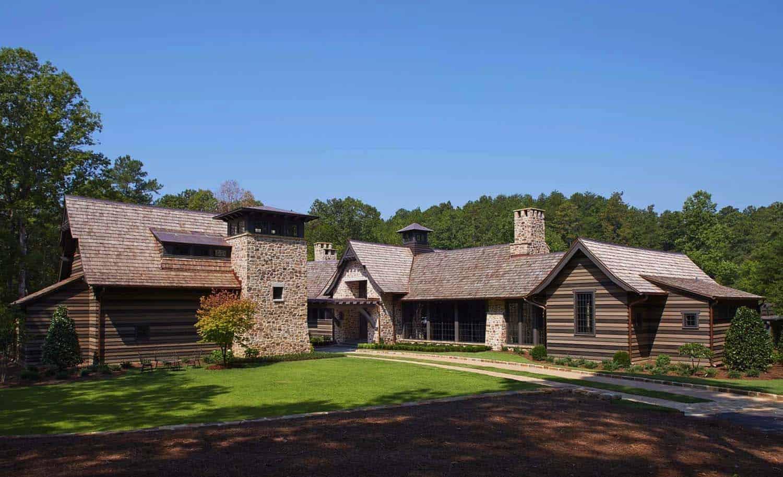 Shingle Style Farmhouse-Jeffrey Dungan Architects-03-1 Kindesign
