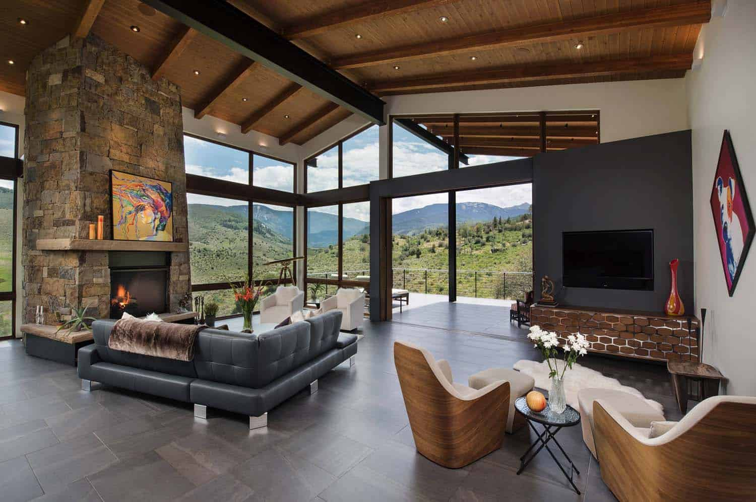 Contemporary Mountain Home Renovation-Berglund Architects-07-1 Kindesign