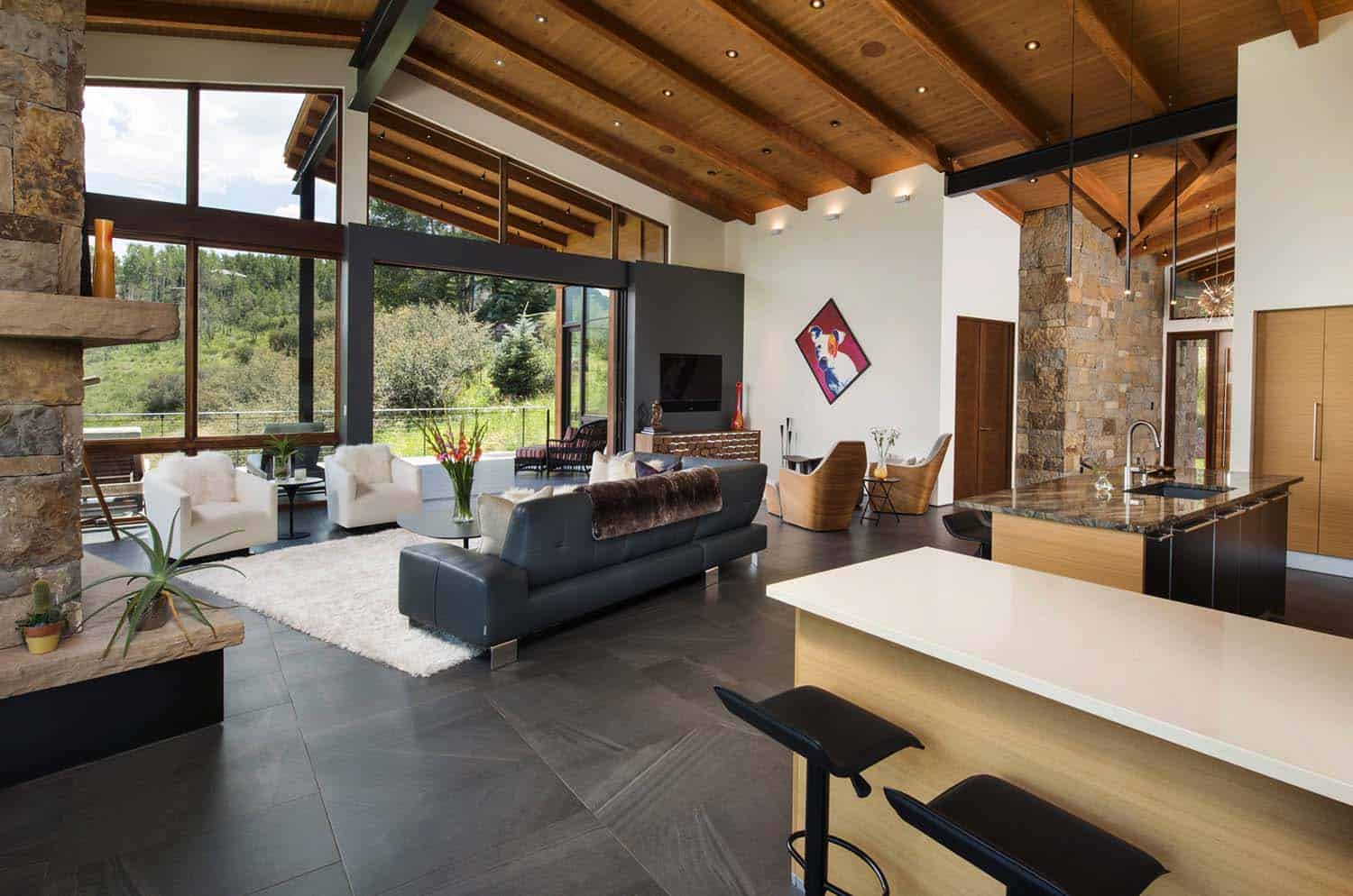 Contemporary Mountain Home Renovation-Berglund Architects-08-1 Kindesign
