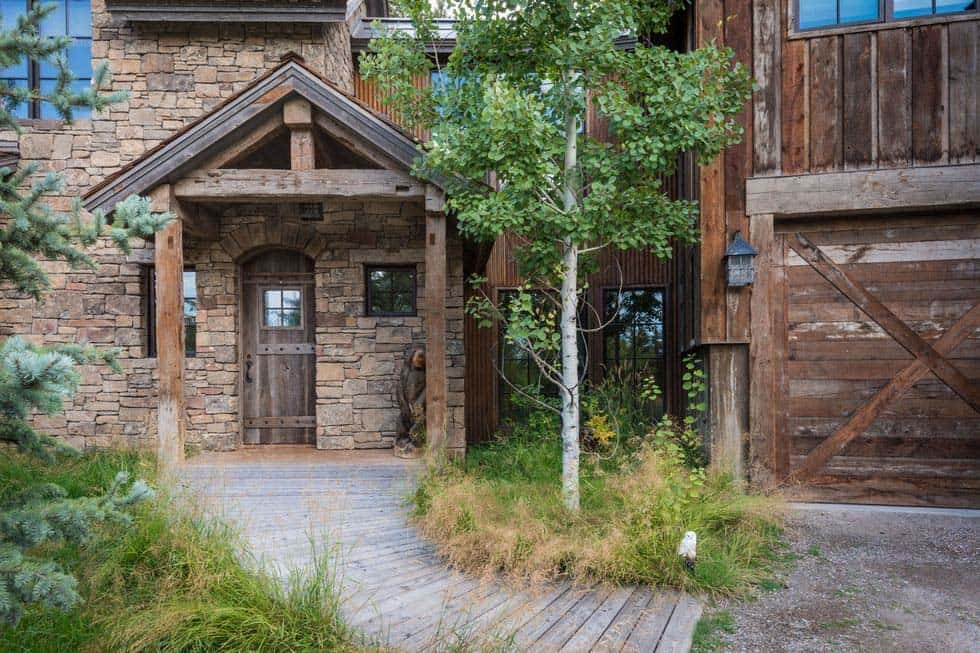 Contemporary Rustic Mountain Retreat-JLF Architects-03-1 Kindesign