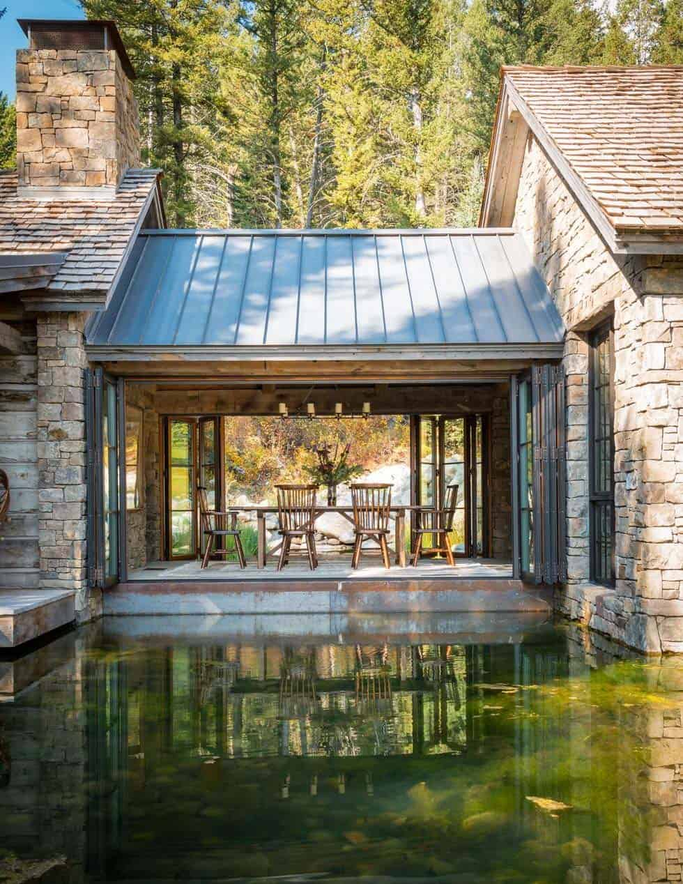 Contemporary Rustic Mountain Retreat-JLF Architects-06-1 Kindesign