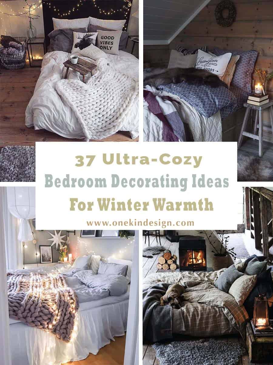 Cozy Bedroom Decorating Ideas For Winter-00-1 Kindesign