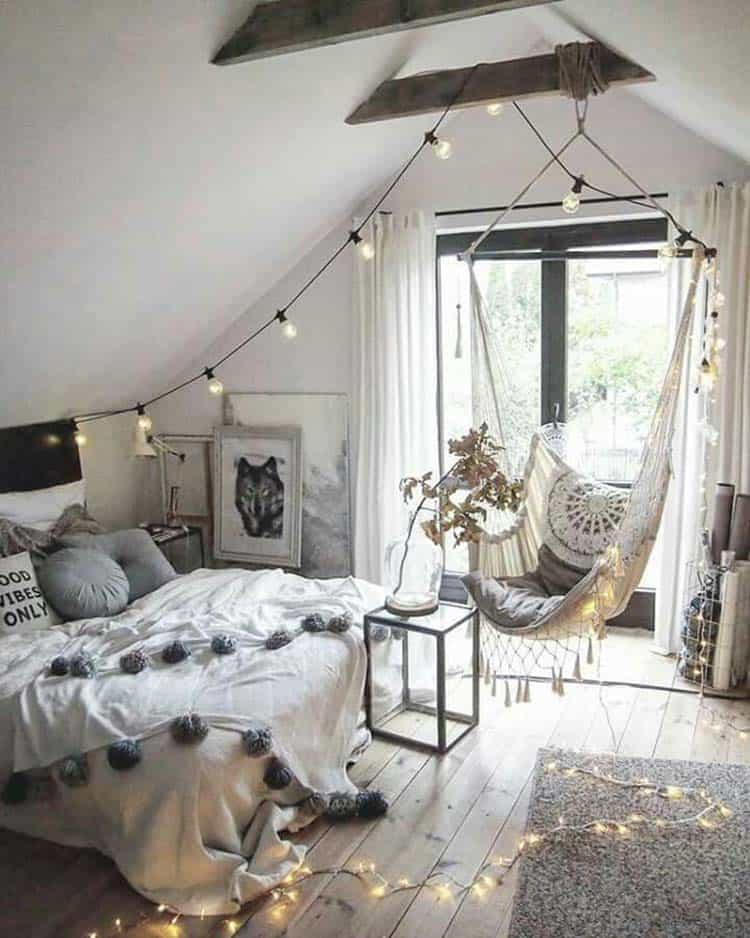 Cozy Bedroom Decorating Ideas For Winter-03-1 Kindesign