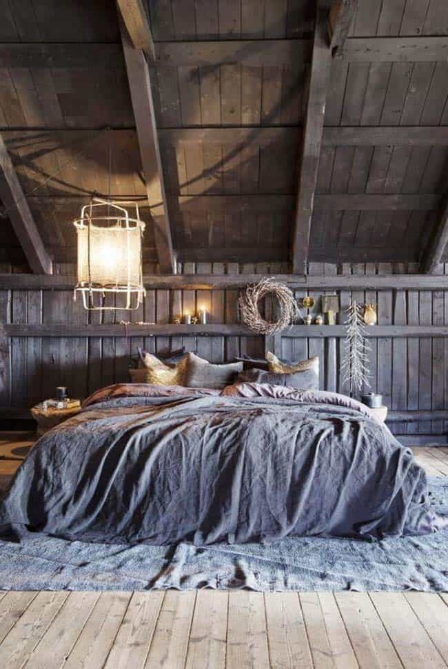 Cozy Bedroom Decorating Ideas For Winter-06-1 Kindesign