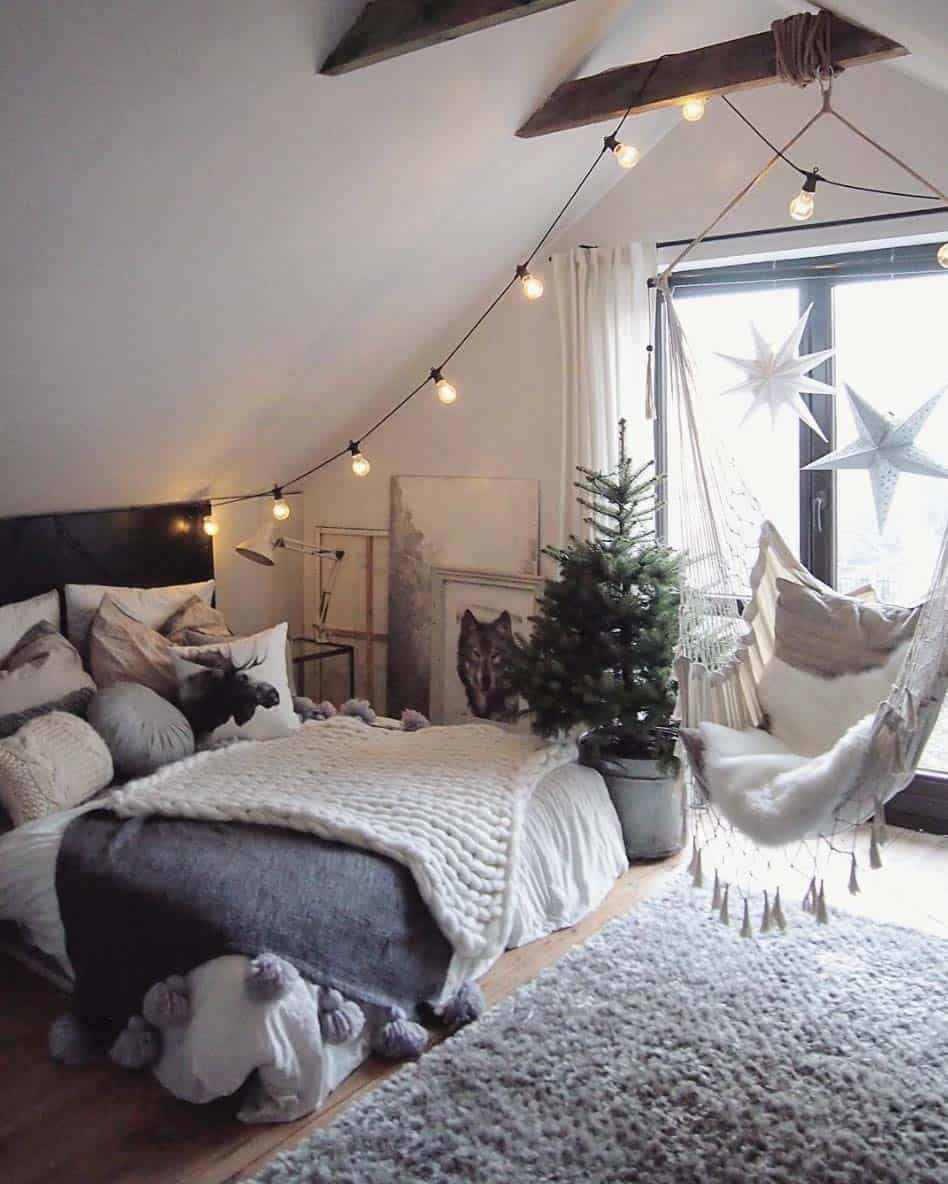 Cozy Bedroom Decorating Ideas For Winter-15-1 Kindesign