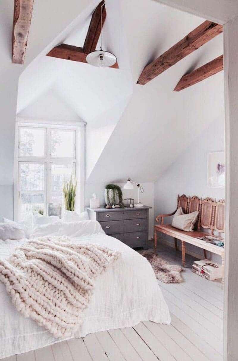 Rustic Kids Bedrooms 20 Creative Cozy Design Ideas: 33 Ultra-cozy Bedroom Decorating Ideas For Winter Warmth