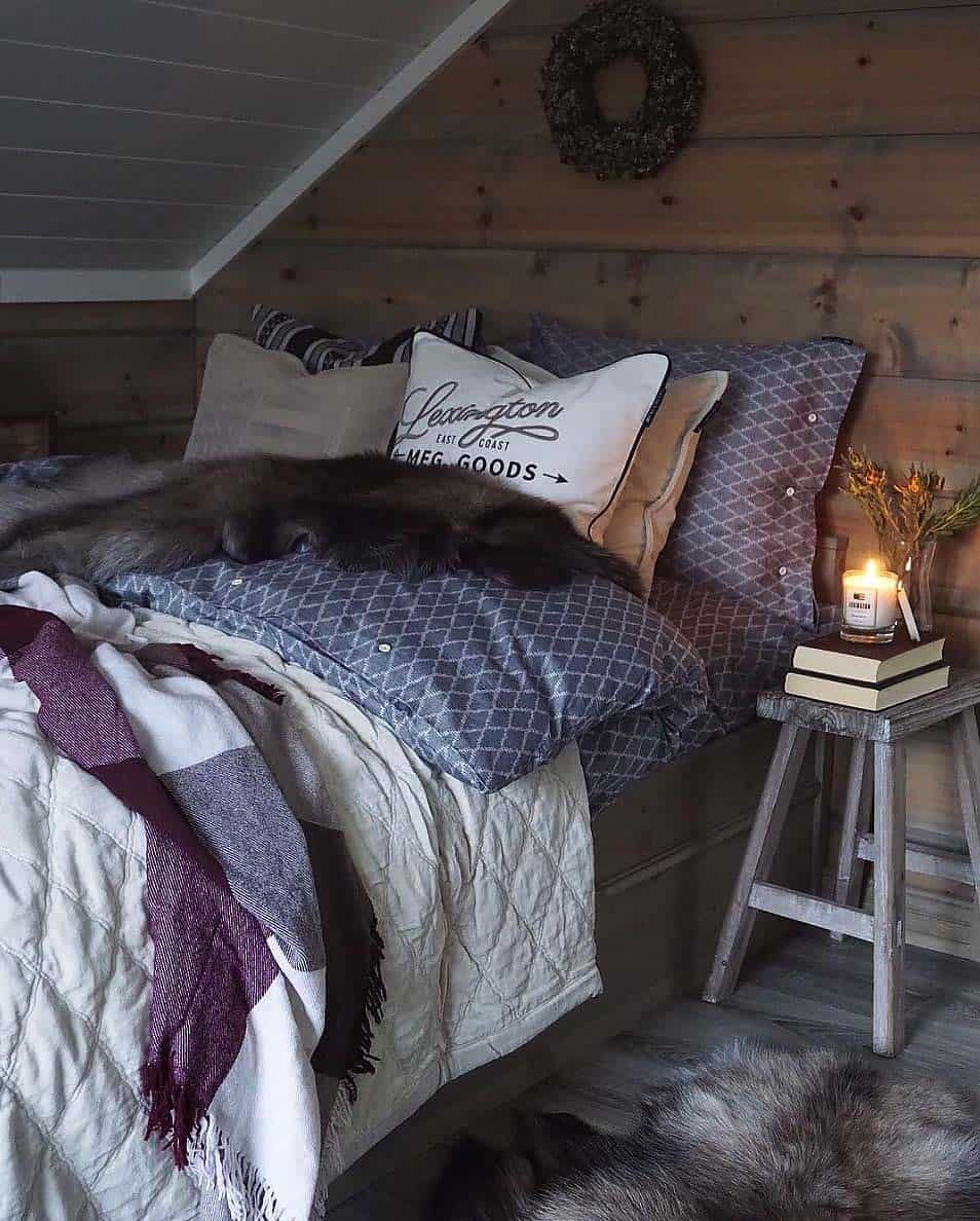 Cozy Bedroom Decorating Ideas For Winter-21-1 Kindesign