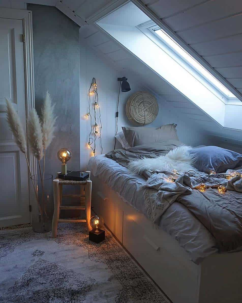 cozy bedroom. Cozy Bedroom Decorating Ideas For Winter-30-1 Kindesign