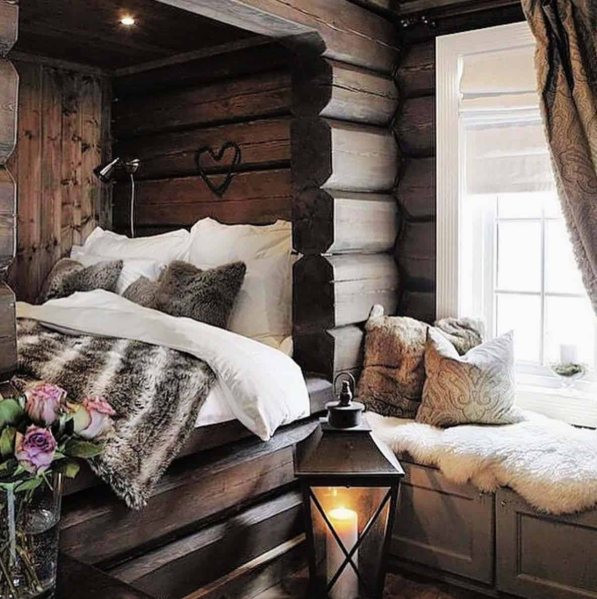 33 ultra cozy bedroom decorating ideas for winter warmth for Winter bedroom