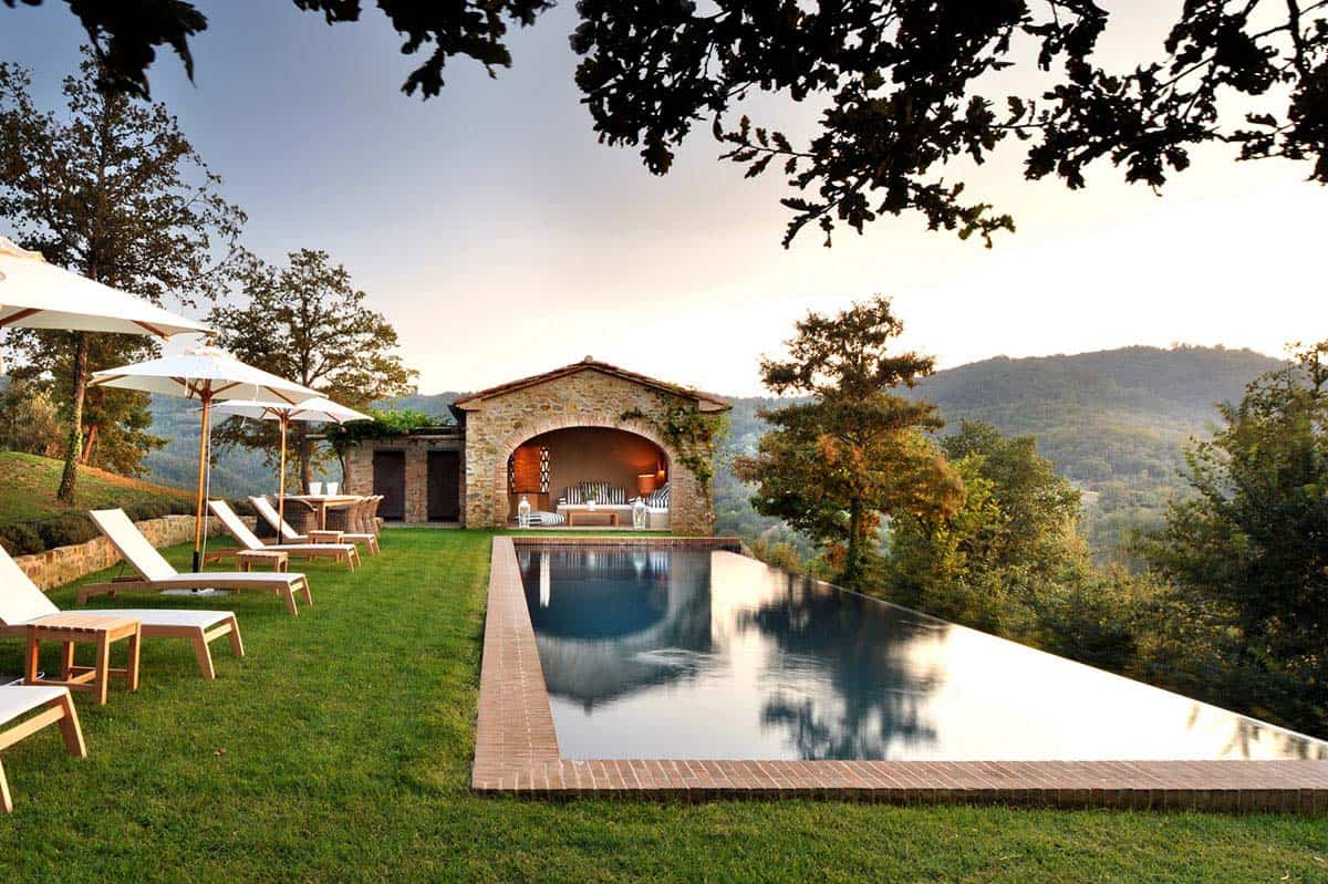 Stone Villa Boasts Unforgettable Views Of The Italian