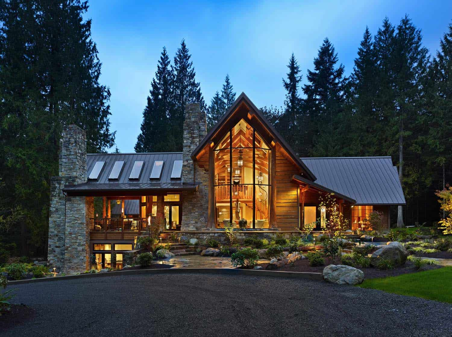 Rustic Contemporary Home-16-1 Kindesign
