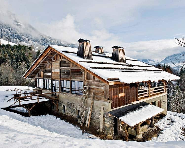 Alpine Cabin French Alps-01-1 Kindesign