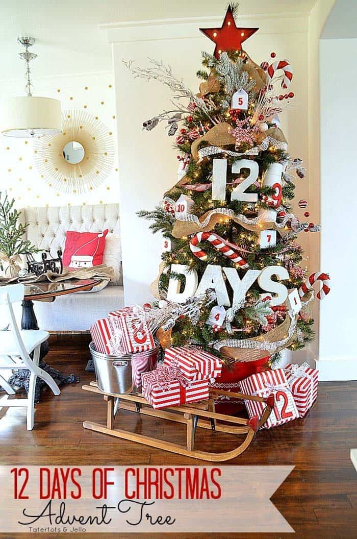 Amazing Christmas Decorated Trees-12-1 Kindesign