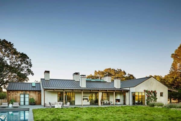 featured posts image for Contemporary courtyard house in Portola Valley provides exceptional living
