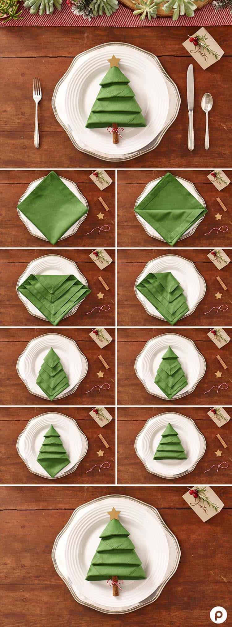 Inspiring Dining Table Christmas Decor Ideas-11-1 Kindesign