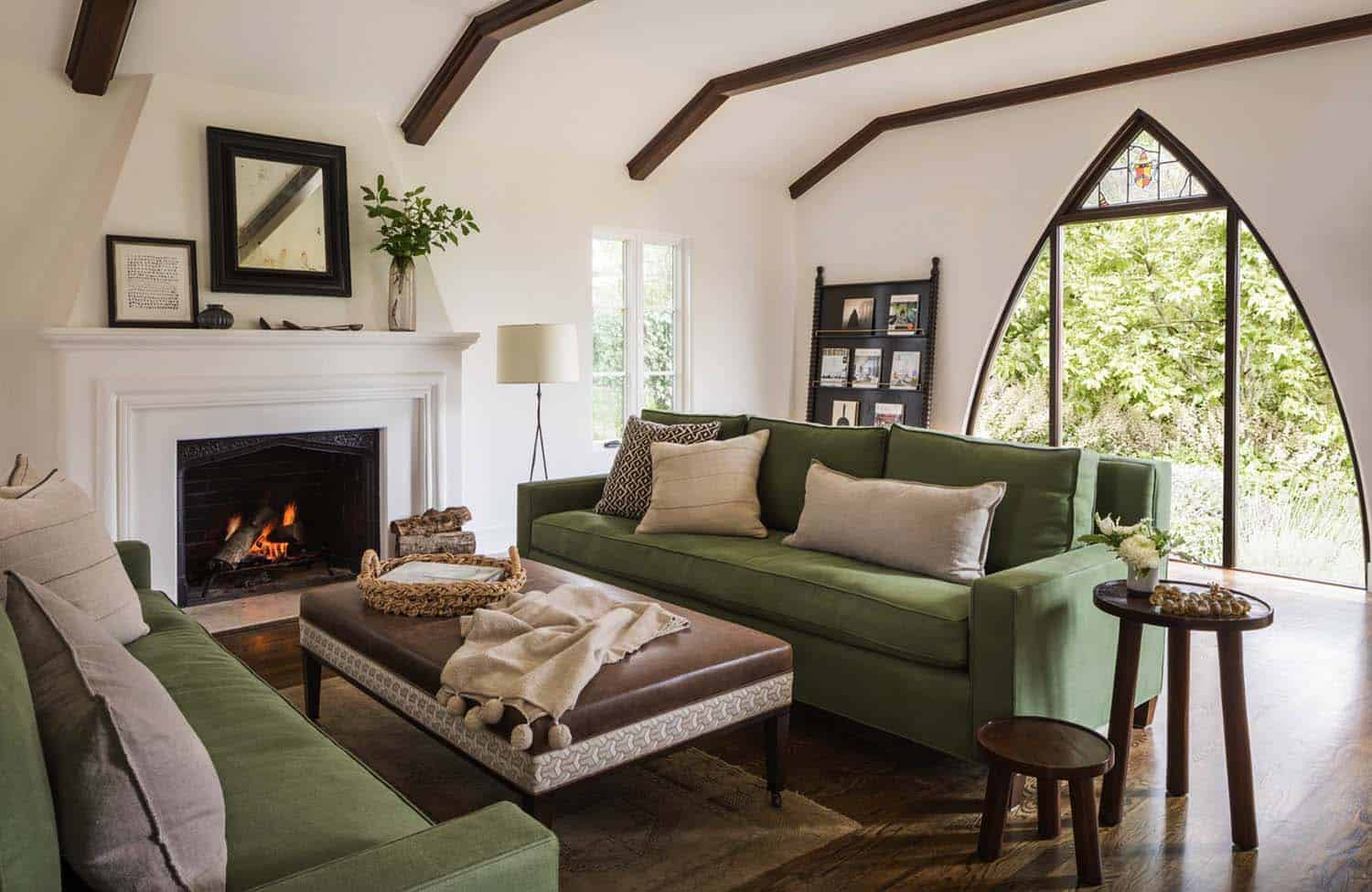 Charming mediterranean style home with heritage in for California contemporary interior design