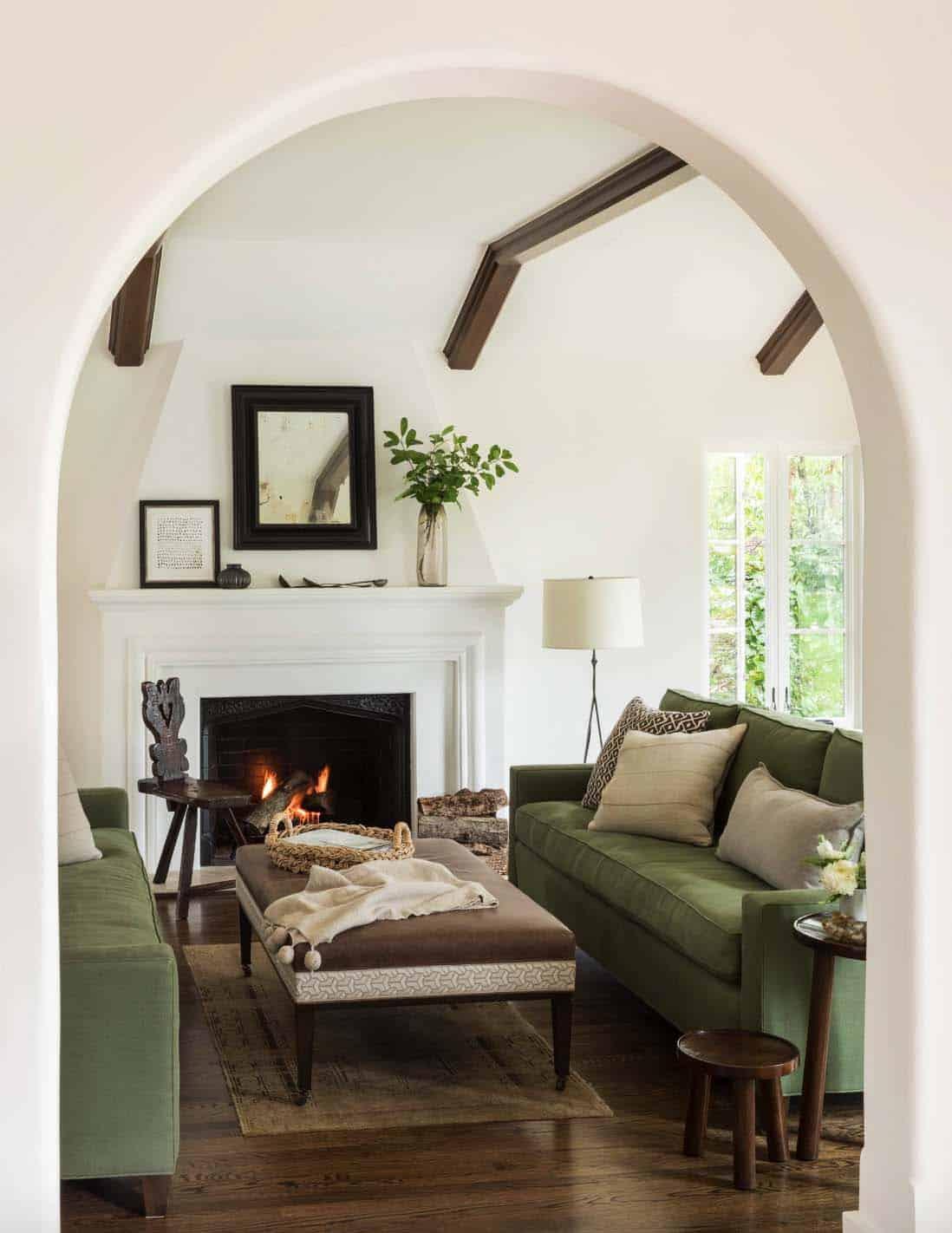 Mediterranean Style Home Jute Interior Design 02 1 Kindesign