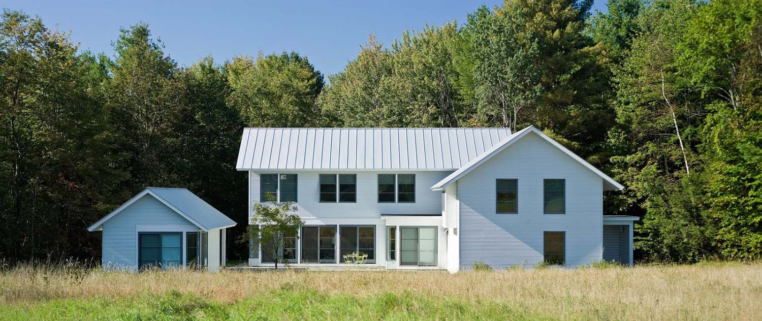 Beautifully designed modern farmhouse style in rural for Architectural designs farmhouse