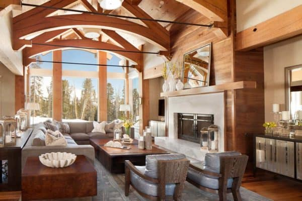 featured posts image for Fabulous mountain house with modern touches in Big Sky, Montana