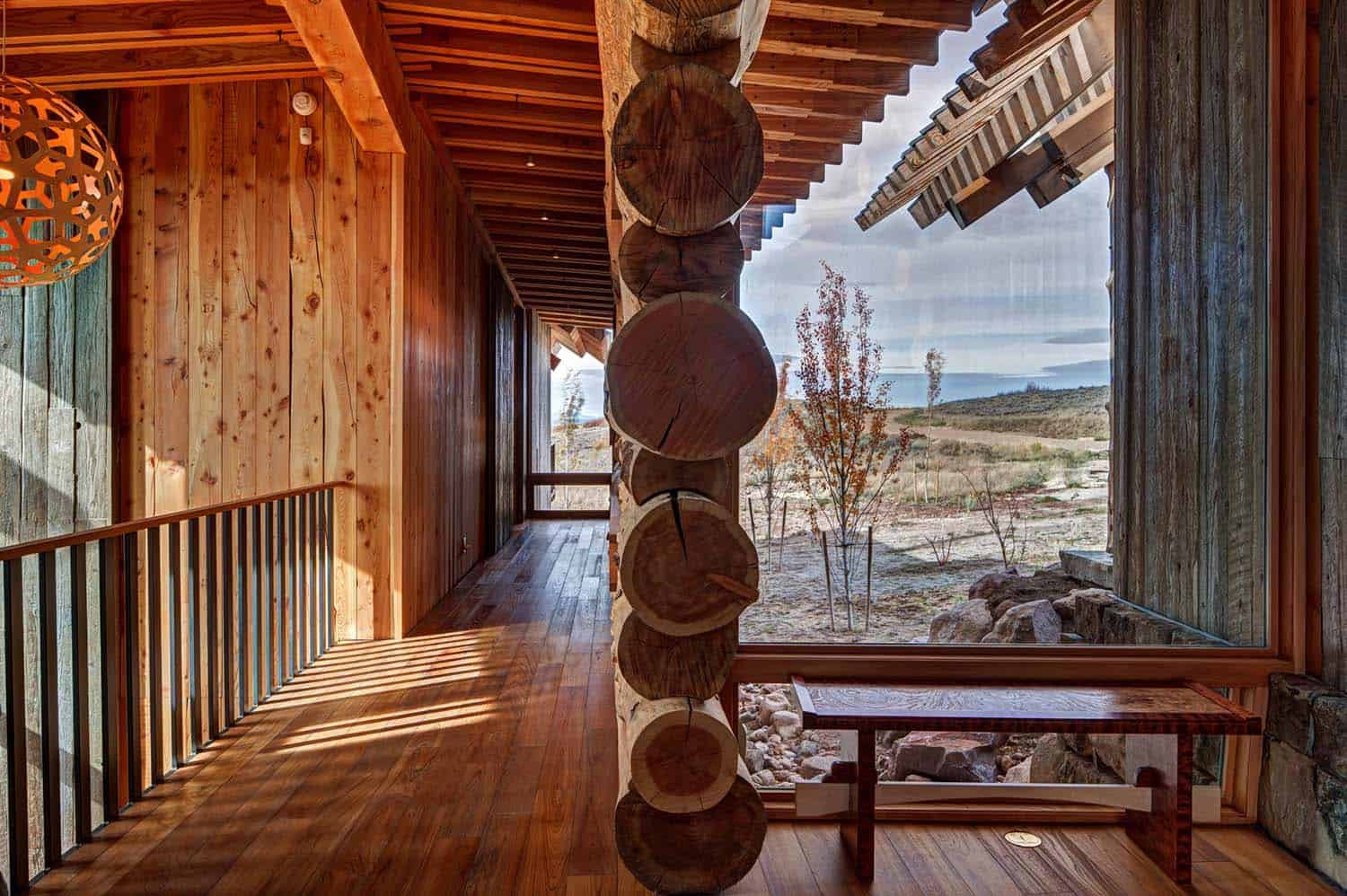 Modern Rustic Log Home-Shubin Donaldson Architects-14-1 Kindesign