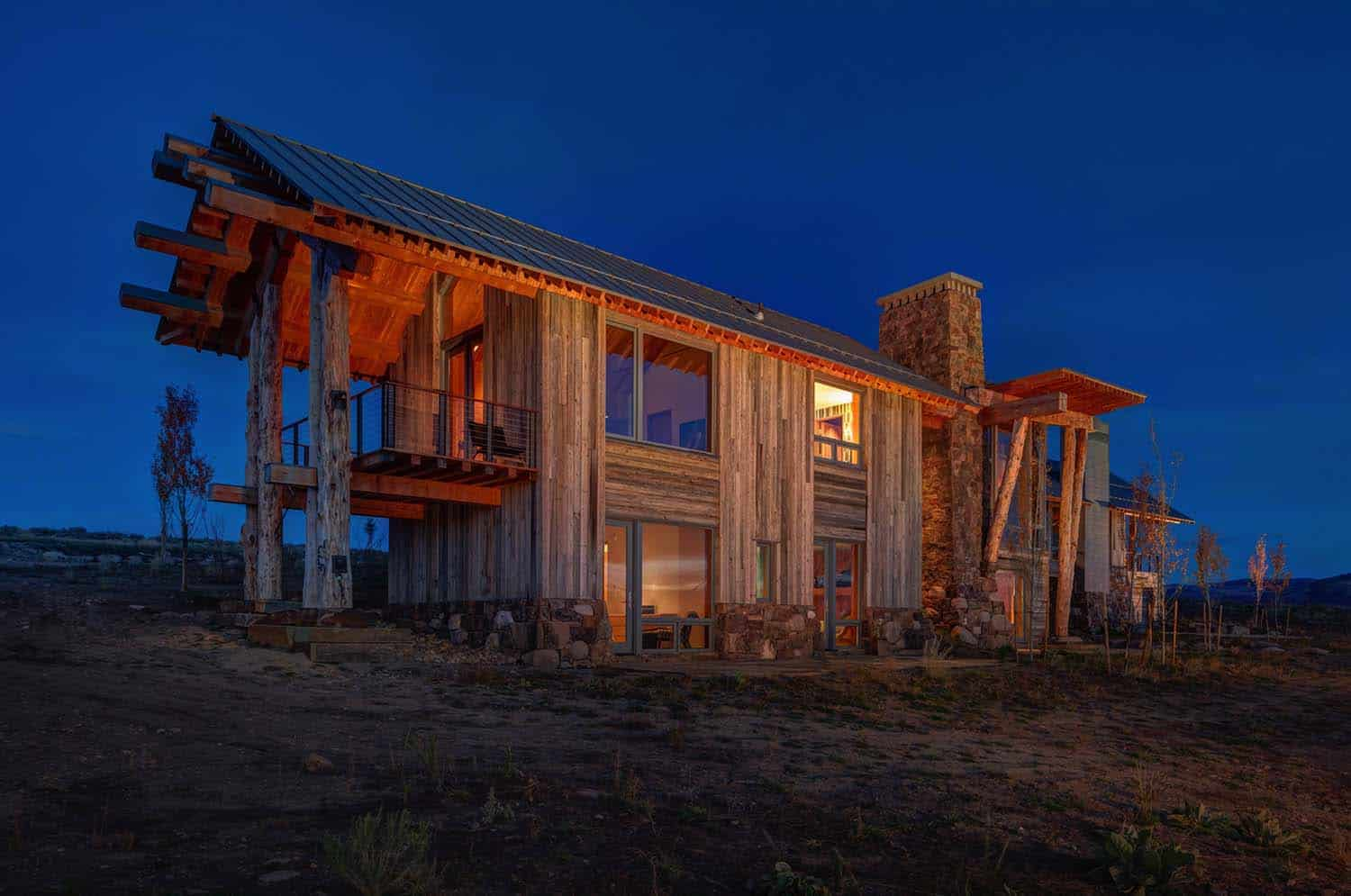 Modern Rustic Log Home-Shubin Donaldson Architects-29-1 Kindesign