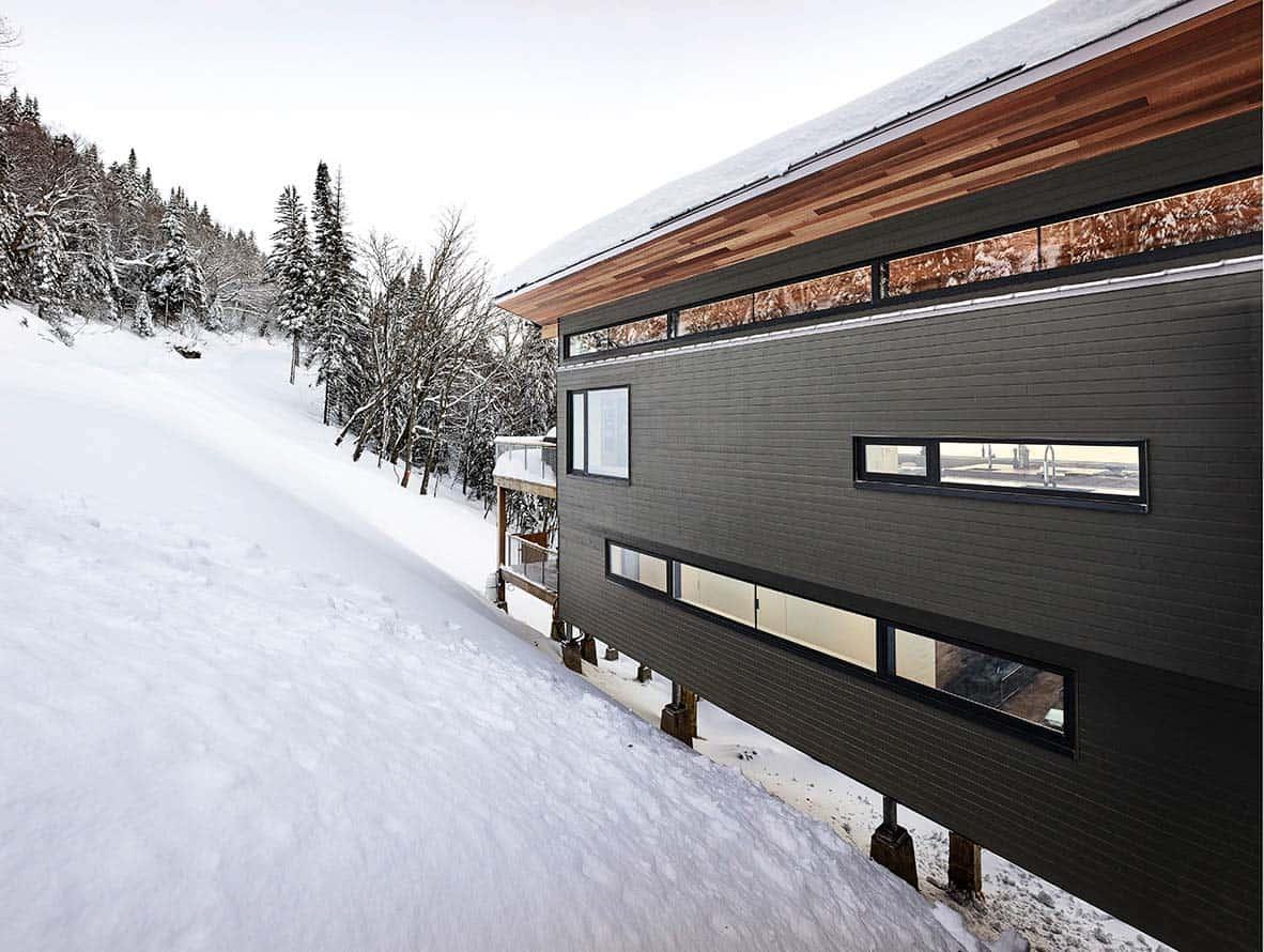 Modern Ski Chalet-Robitaille Curtis-02-1 Kindesign